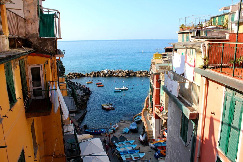 Riomaggiore harbour