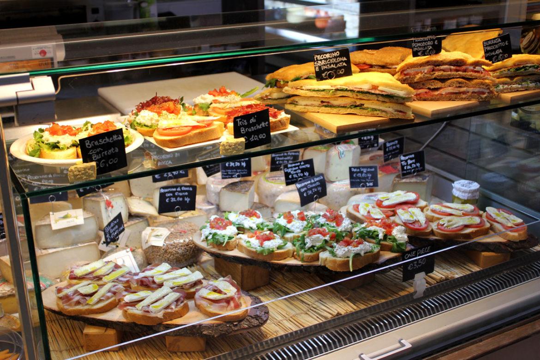 Bruschetta at Central Food Market