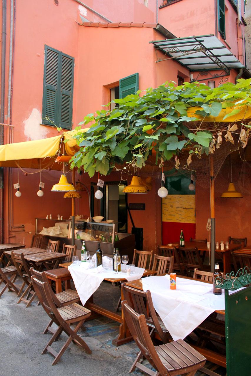 Monterosso restaurant
