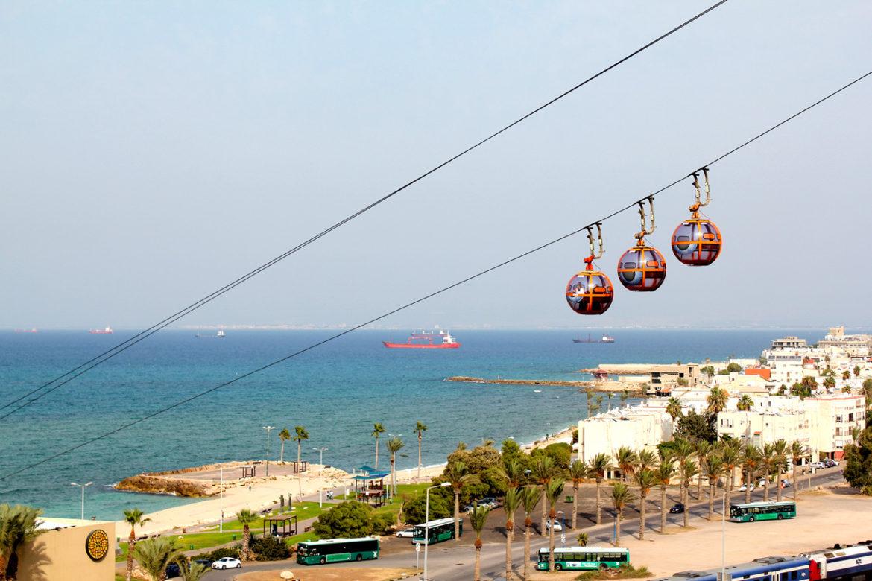 Cable Car in Haifa, Israel