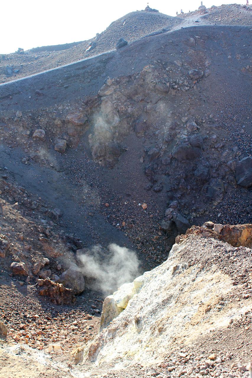 Nea Kameni Sulphur