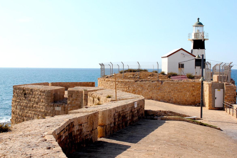 Akko lighthouse, Israel