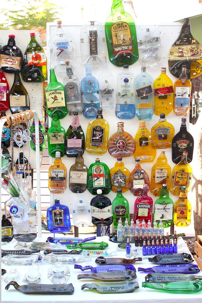 Nachlat Binyamin bottle art