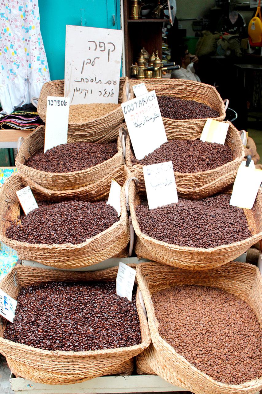 market coffee beans