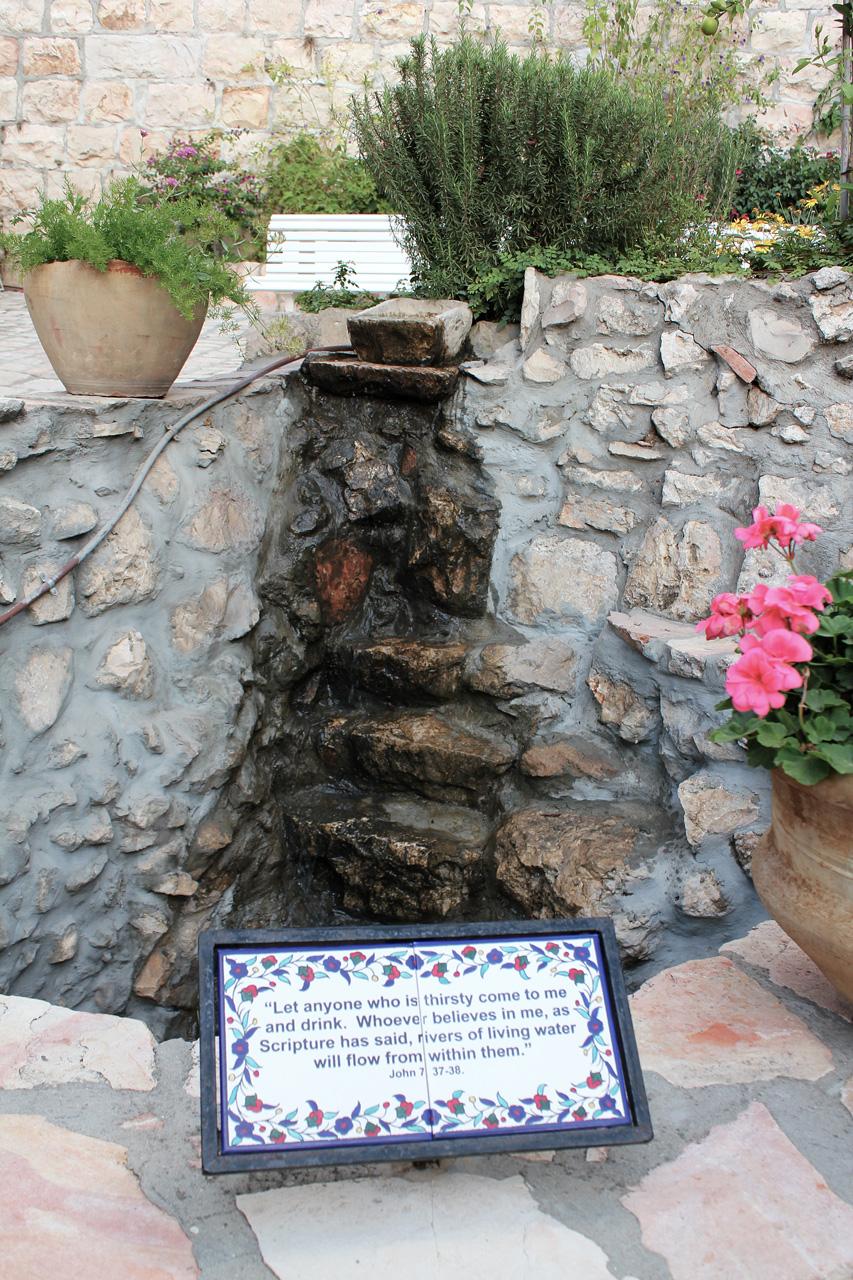 garden tomb spring