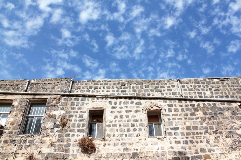 Citadel ruins in Tiberias