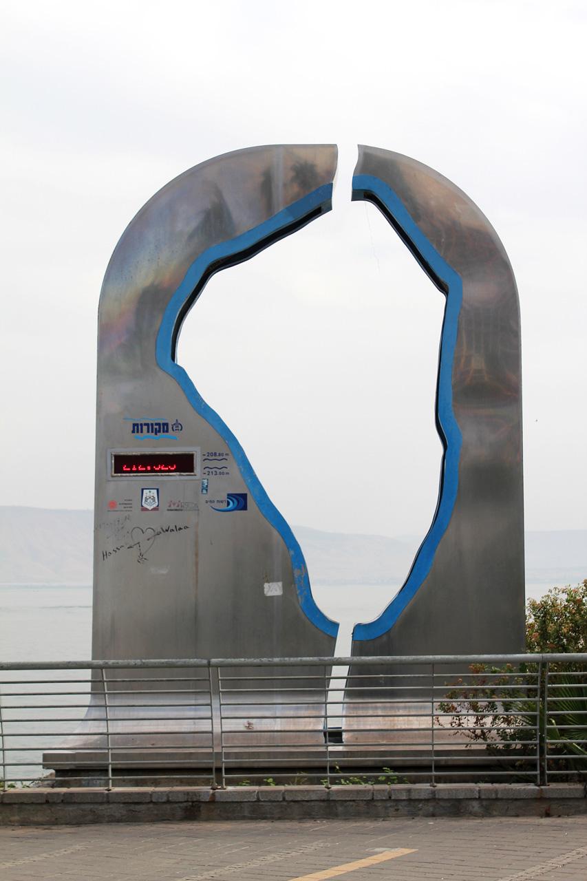Tiberias Water Lever Reader