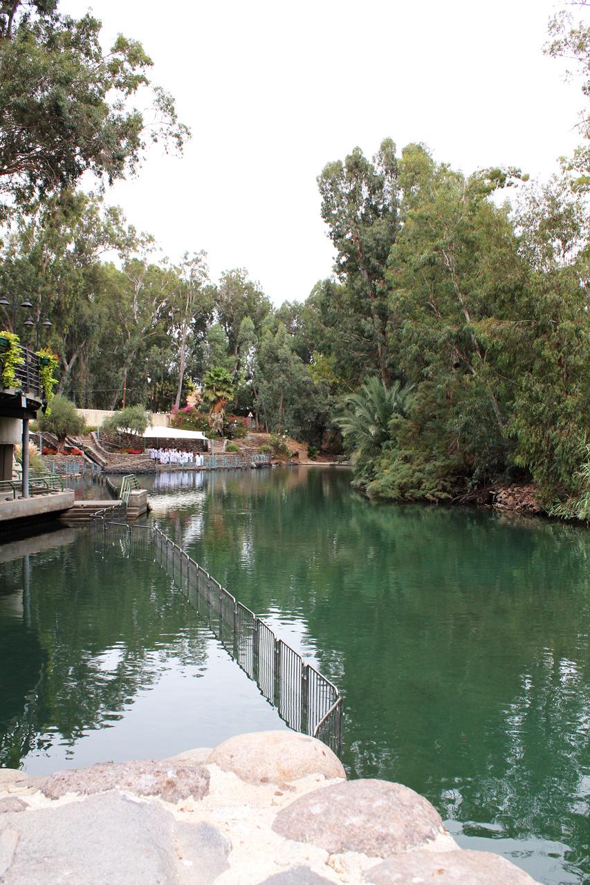 Jordan River baptism site, Israel