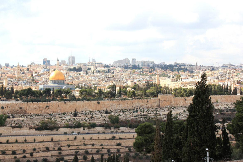 Jerusalem Old City from the Mount of Olives