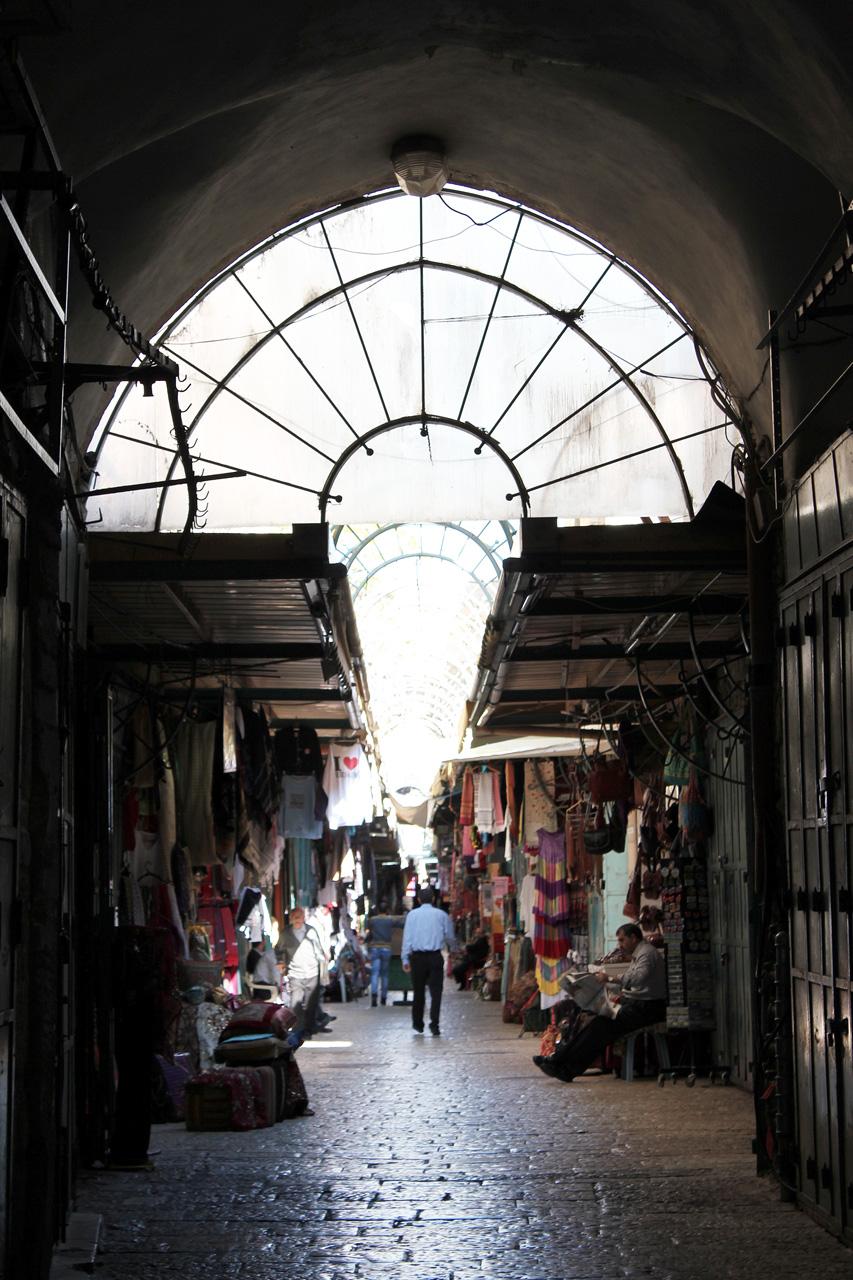 Market alleyway