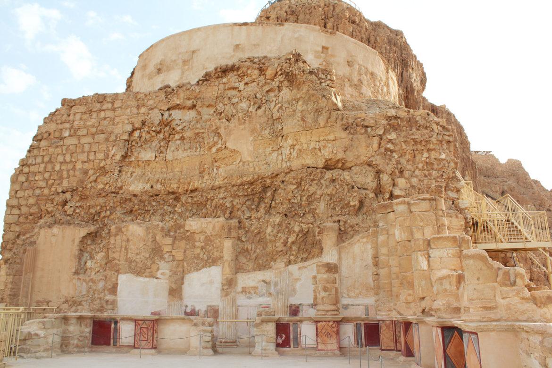 Remains of Herod's Palace at Masada