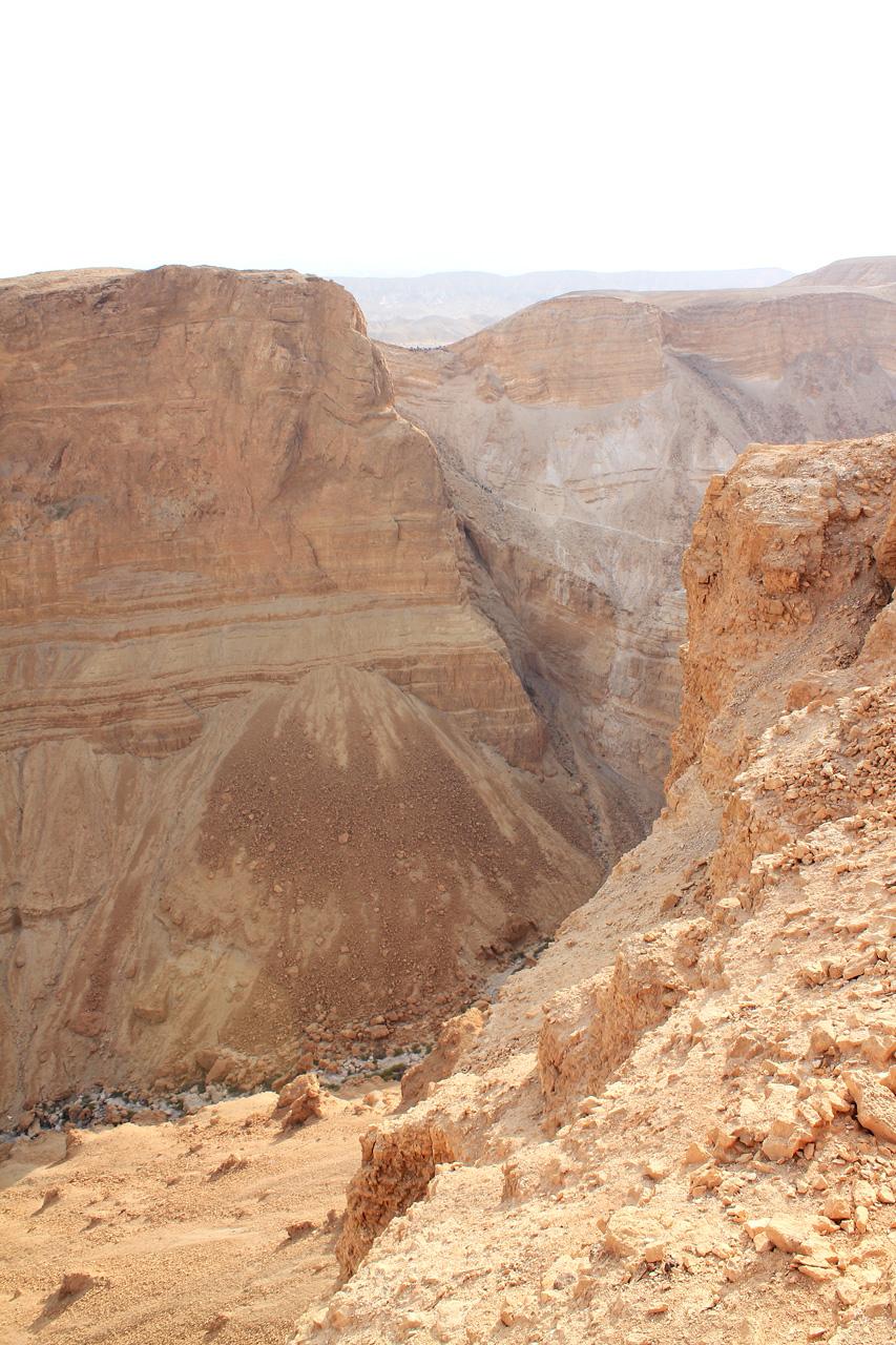 Masada view to desert