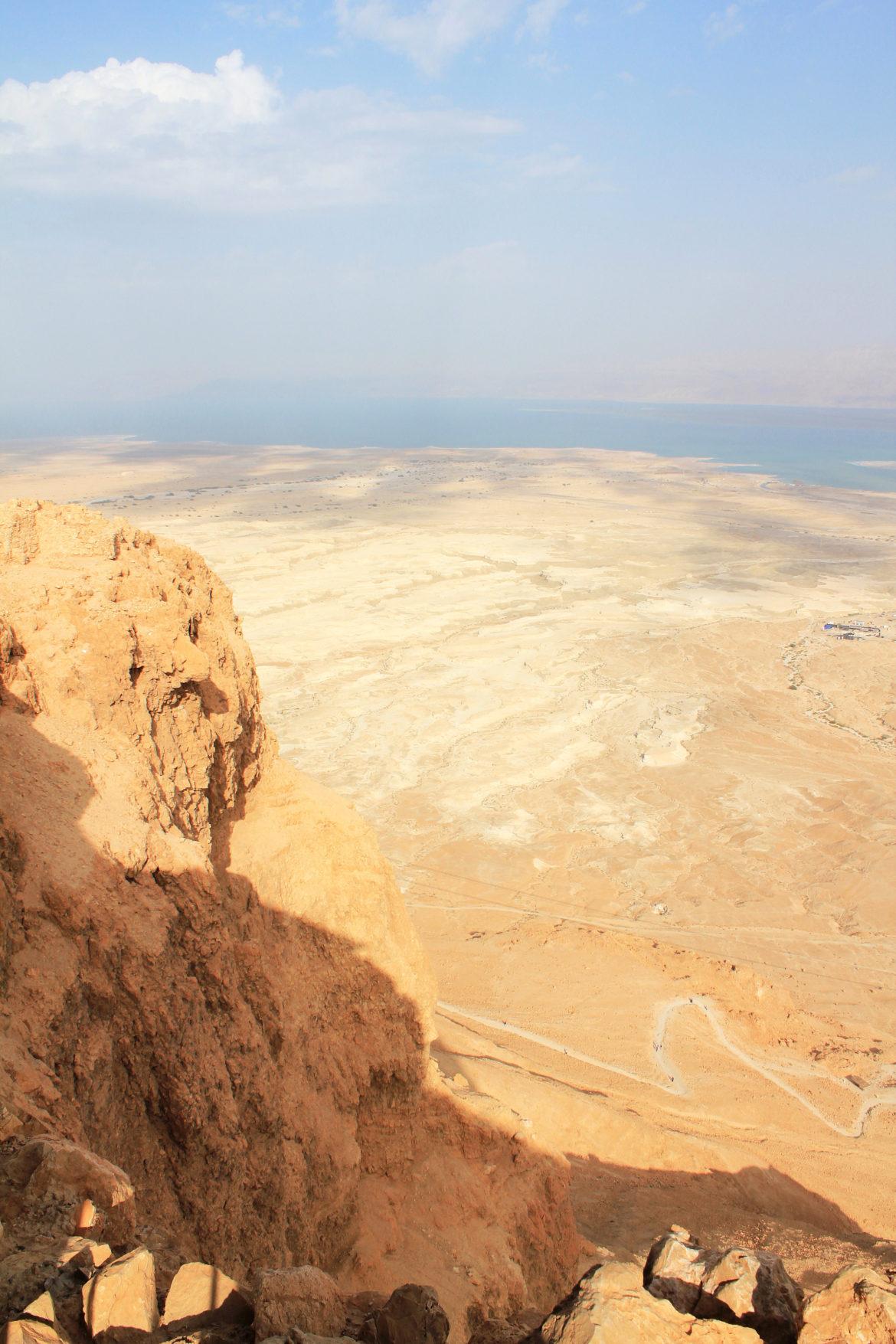 Masada north view