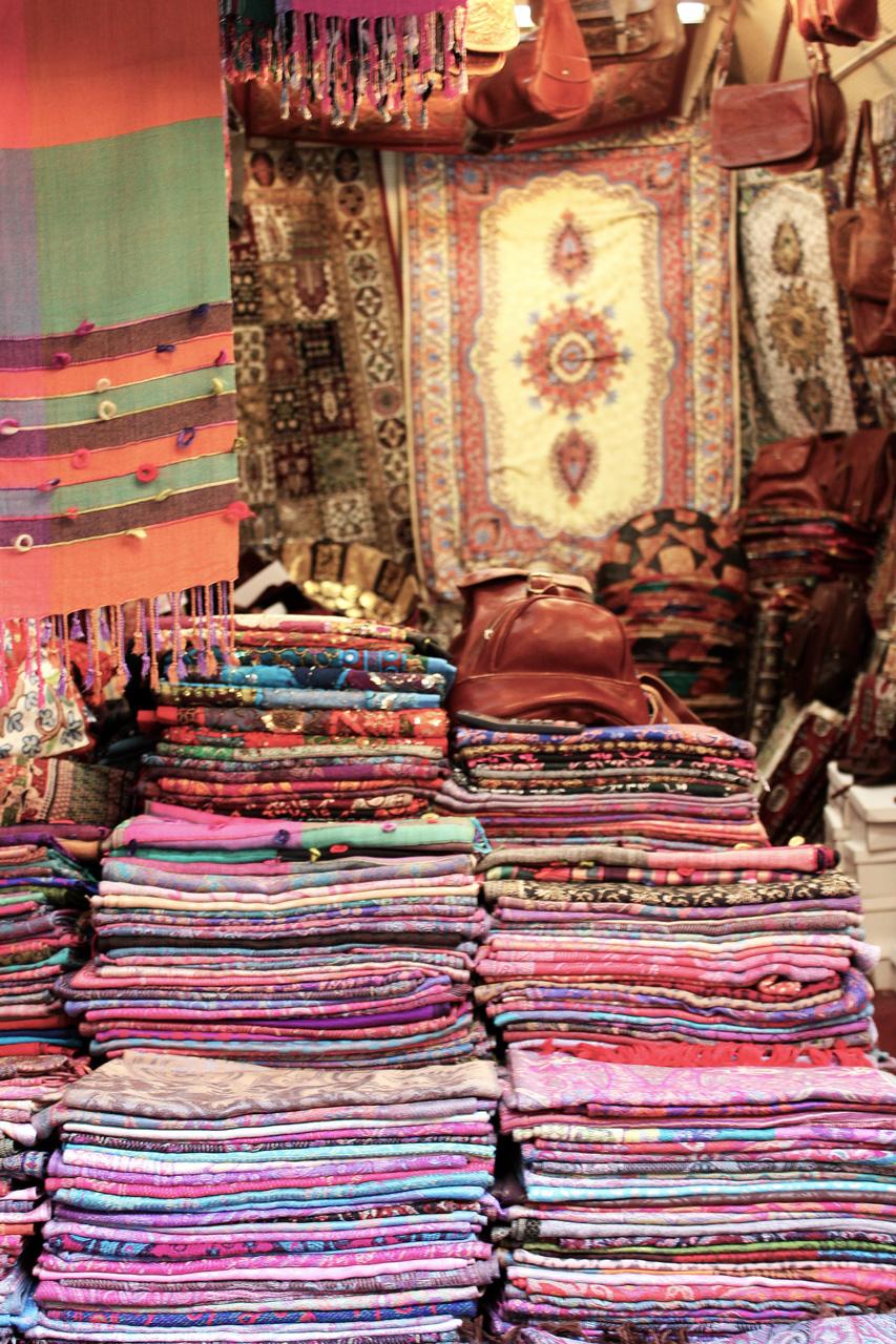 market scarves