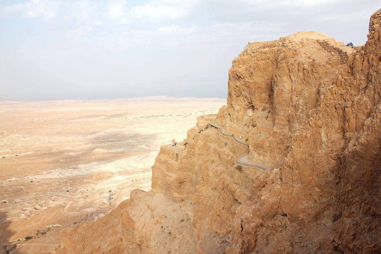 Masada Walk to Herdod's Place