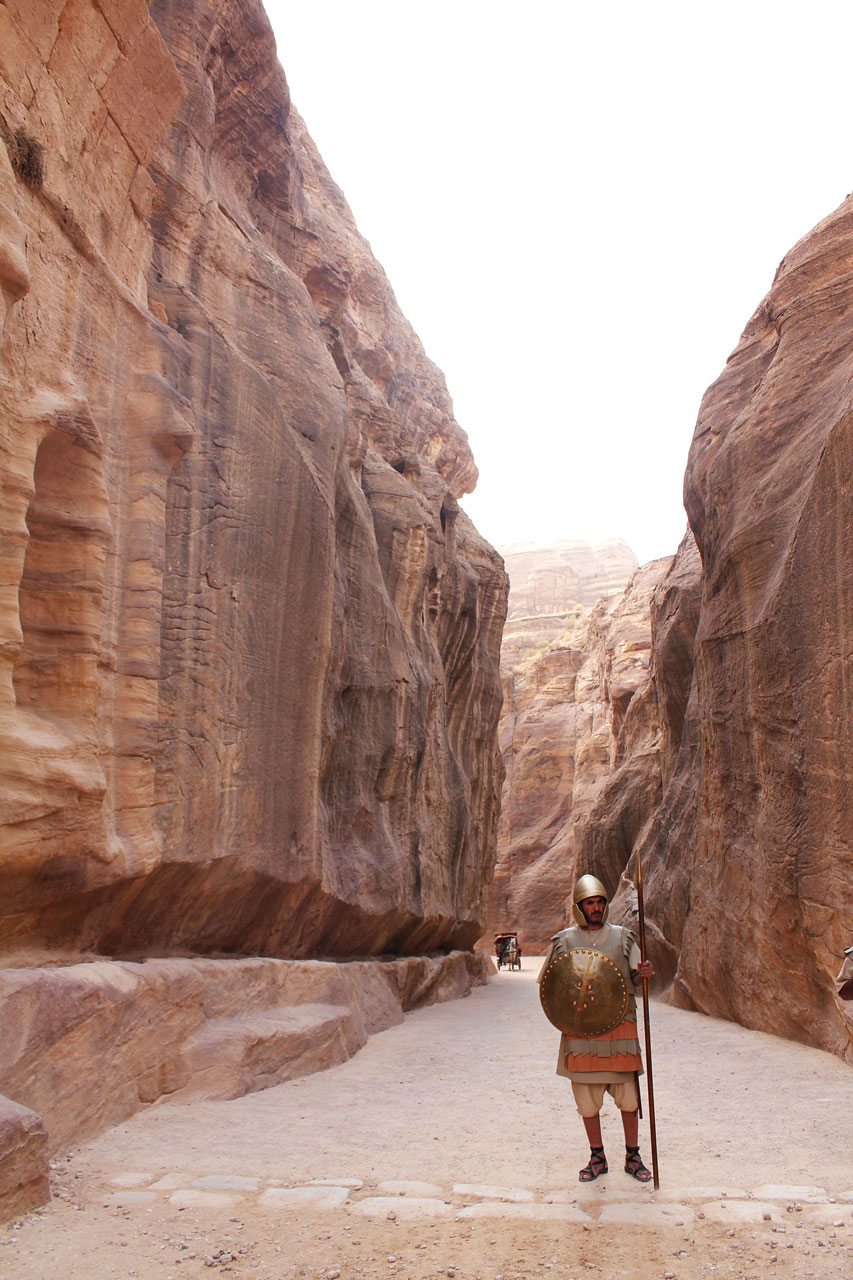 Entrance to the Siq, Petra