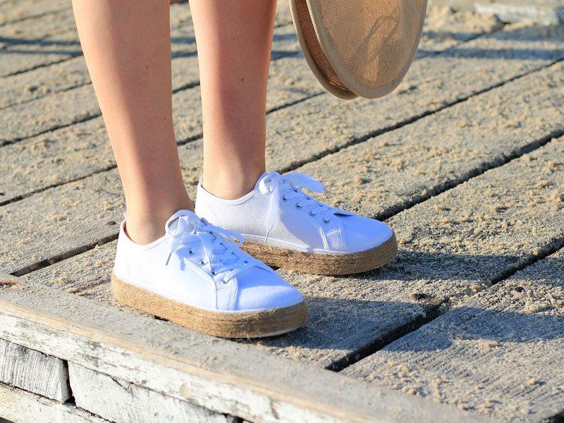 DIY Sneaker Espadrilles, Dossier Blog