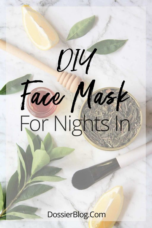 My go-to DIY Face Mask for Nights In | Dossier Blog