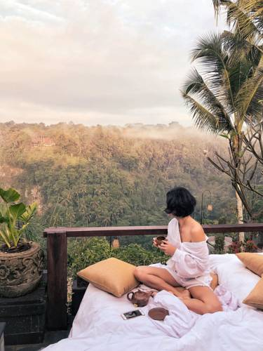 Pramana Watu Karung Resort Ubud has beautiful jungle views | Dossier Blog