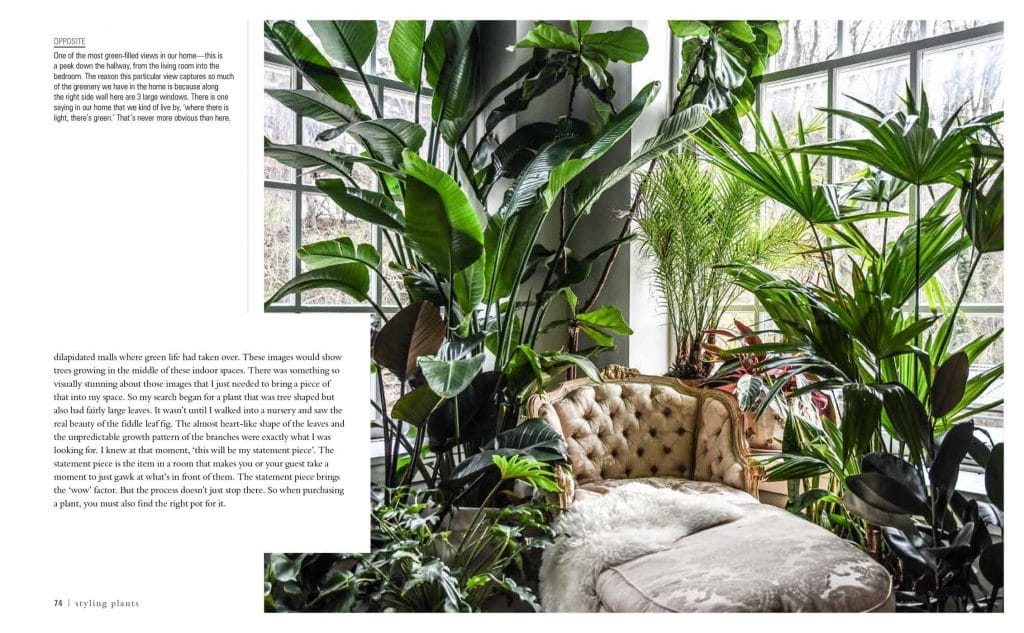 A spread from Hilton Carter's Wild at Home | Dossier Blog