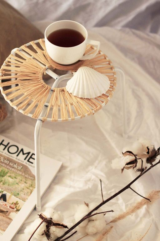 This side table is perfect for weekend chills, indoor and outdoor use | Dossier Blog