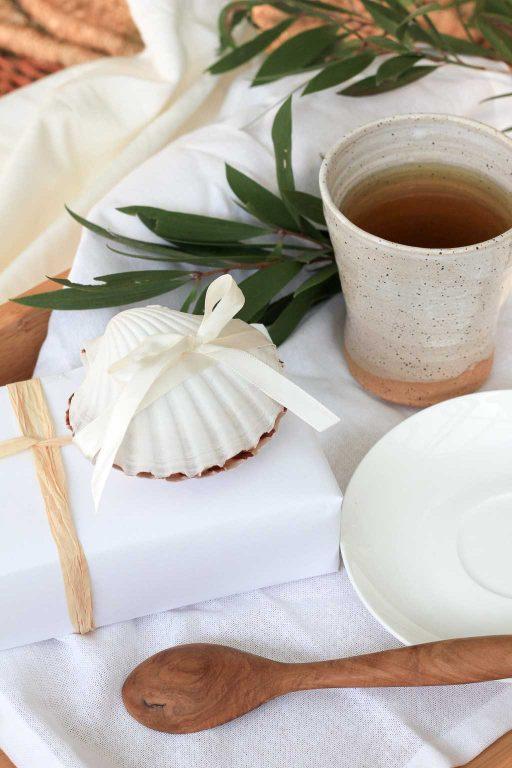 Make a shell gift box for Christmas   Dossier Blog