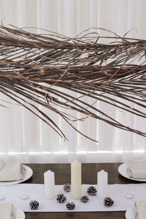 Palm frond for Christmas decor | Dossier Blog