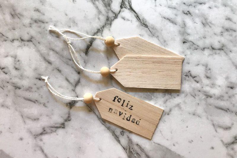 DIY Christmas tags | Dossier Blog