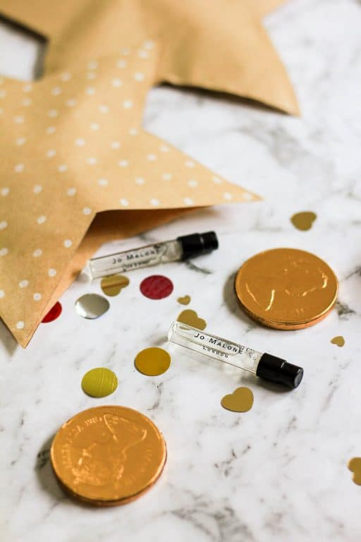 Add in small gifts to the bonbons, like Jo Malone sample perfumes | Dossier Blog