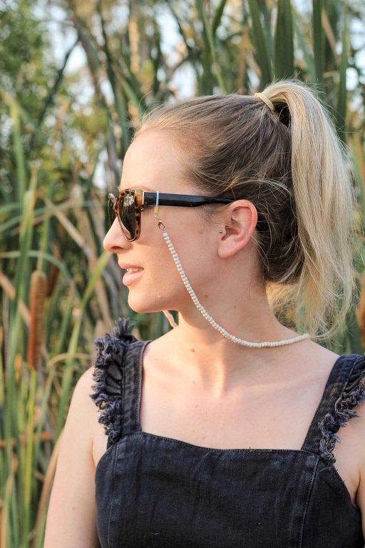 How to made a beaded sunglasses strap | Dossier Blog