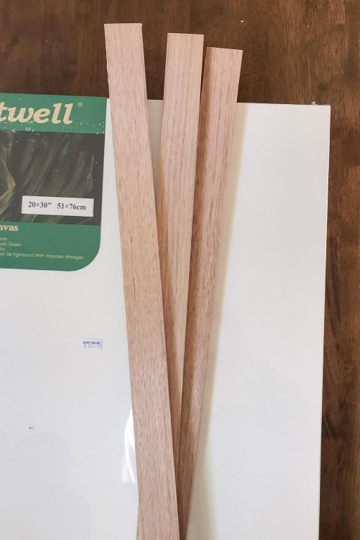 New canvas and oak trim materials | Dossier Blog