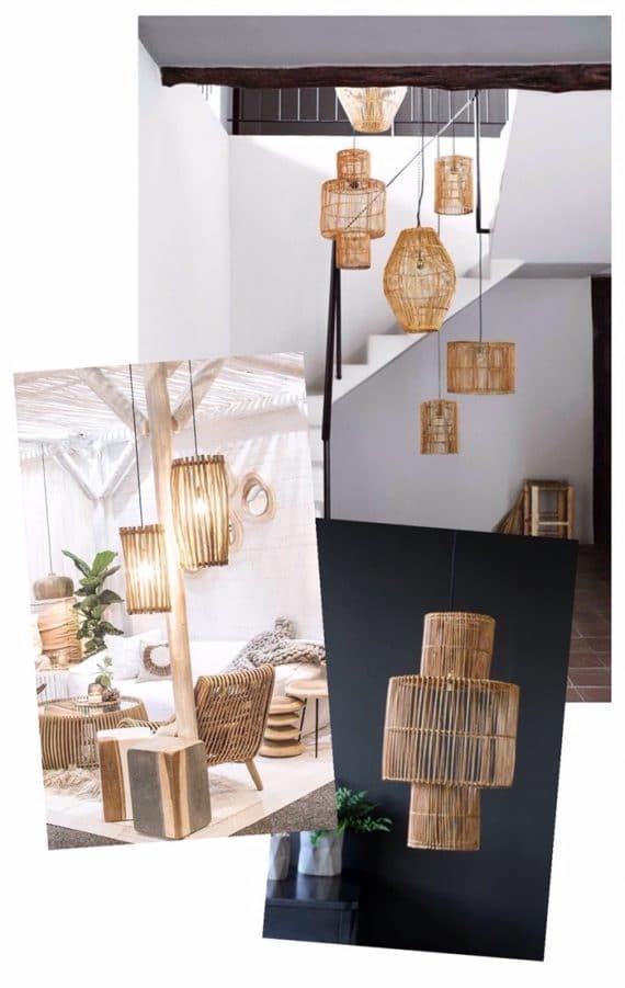 Rattan lamp inspiration | Dossier Blog