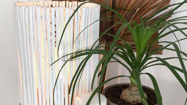 Make this bamboo lamp | Dossier Blog