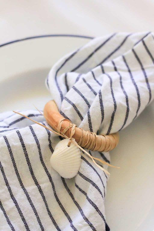 napkin rings DIY for Christmas | Dossier Blog