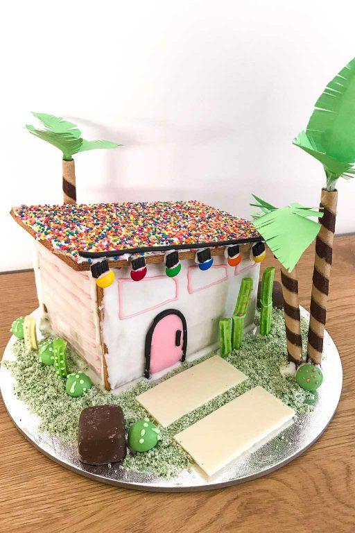 Pam Springs Gingerbread House tutorial | Dossier Blog