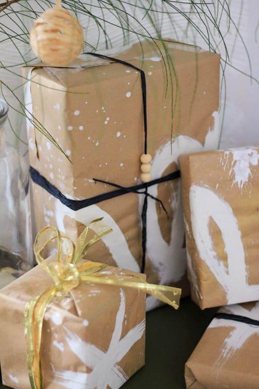 Christmas kraft paper DIY | Dossier Blog