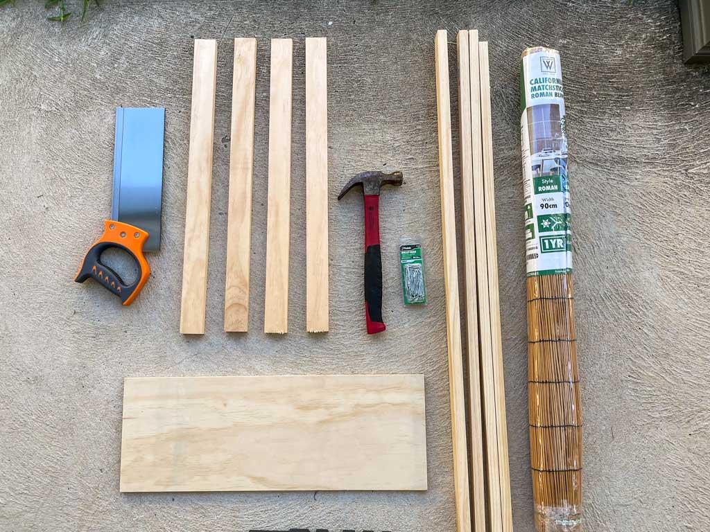 materials for rattan planter box | Dossier Blog