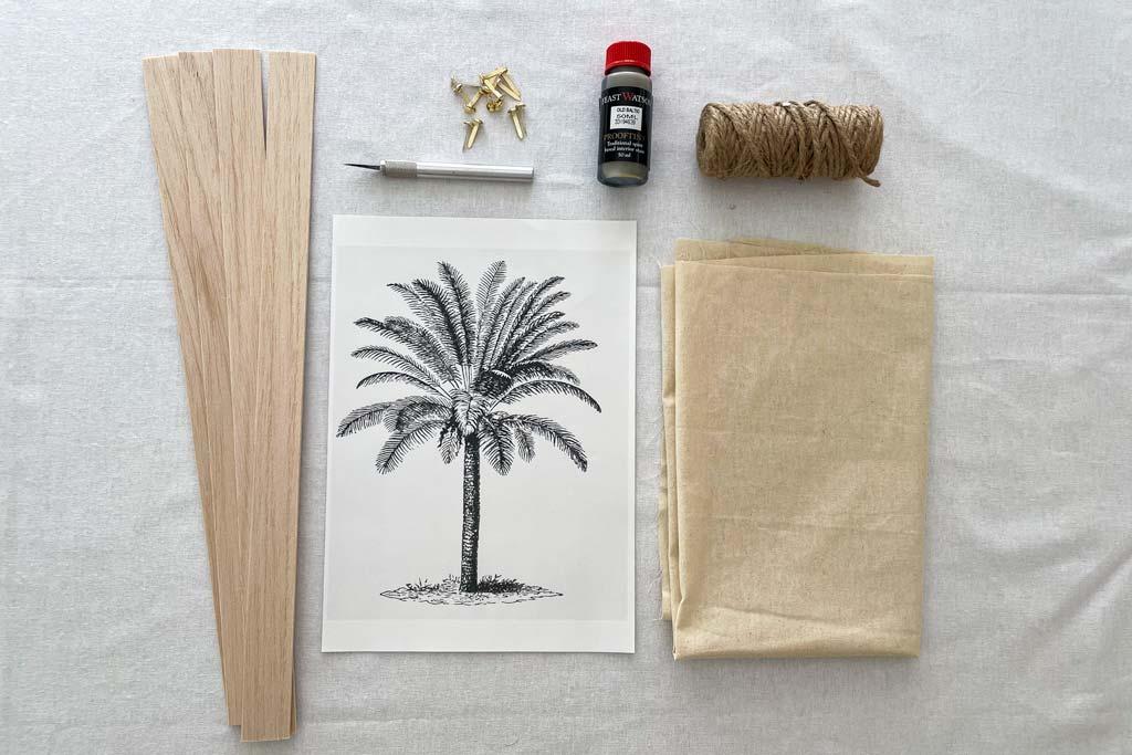 materials for wall art | Dossier Blog
